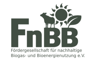 Logo Fördergesellschaft für nachhaltige Biogas- und Bioenergienutzung