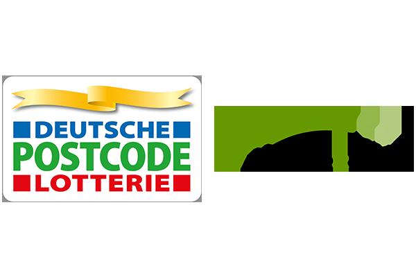 Logo Deutsche Postcode Lotterie und NatureFund